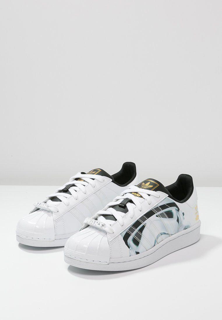 adidas Originals - SUPERSTAR J - Baskets basses - white superstar star wars  stormtrooper