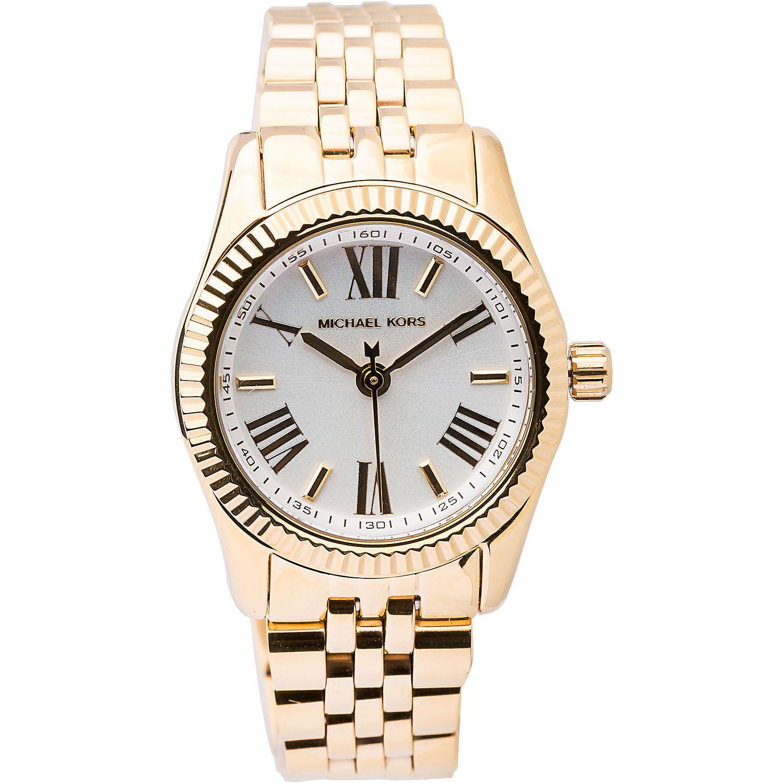 86b3c9cb2d60 Michael Kors Women s MK3229  Lexington  Goldtone Watch