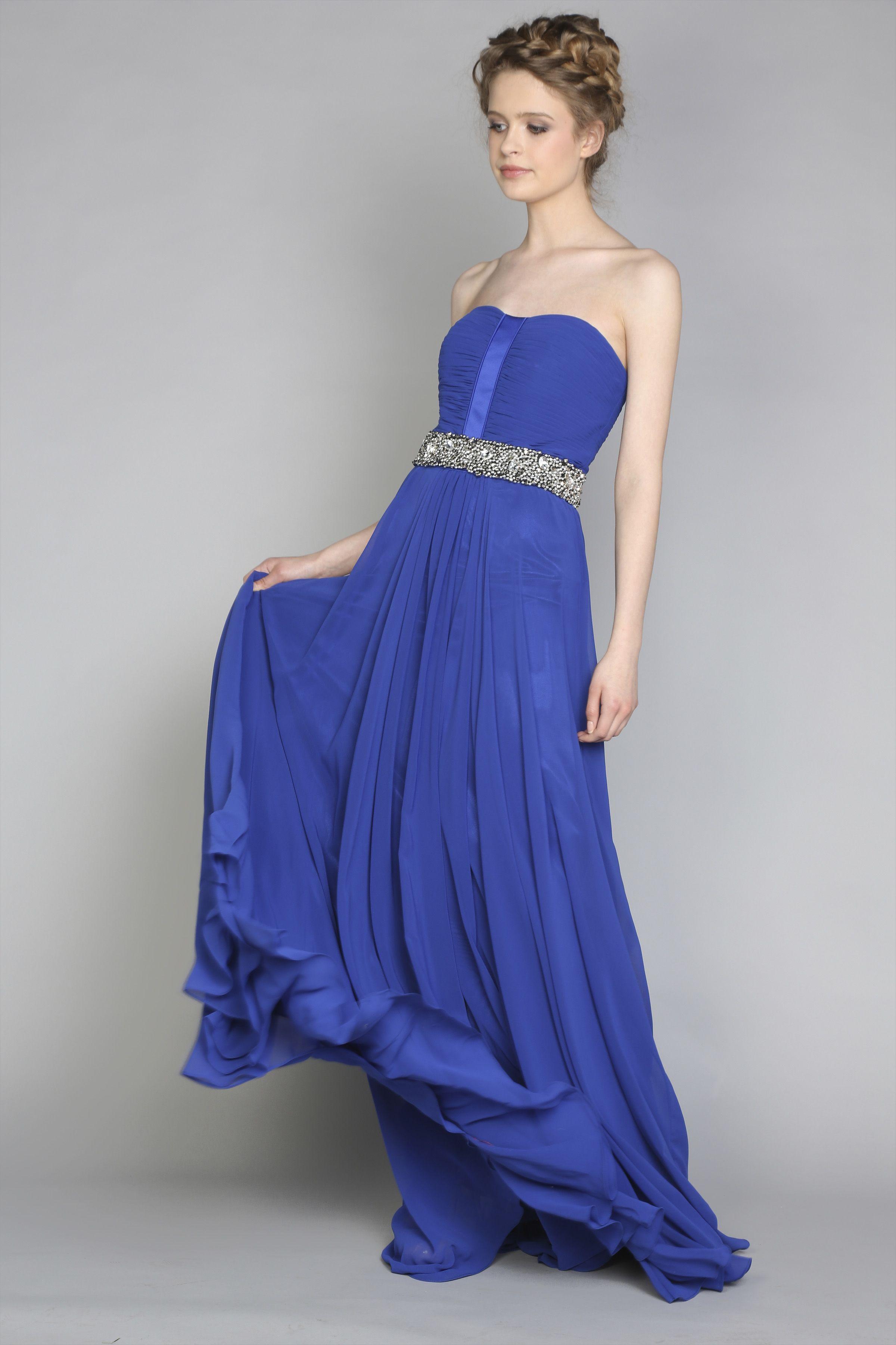 d810509e014 Royal blue debs dress