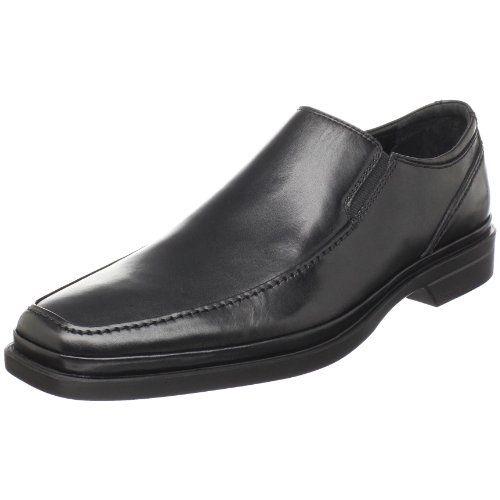 Propuesta de los hombres Moc Run Off Toe Slip On, Negro, 11.5 M US