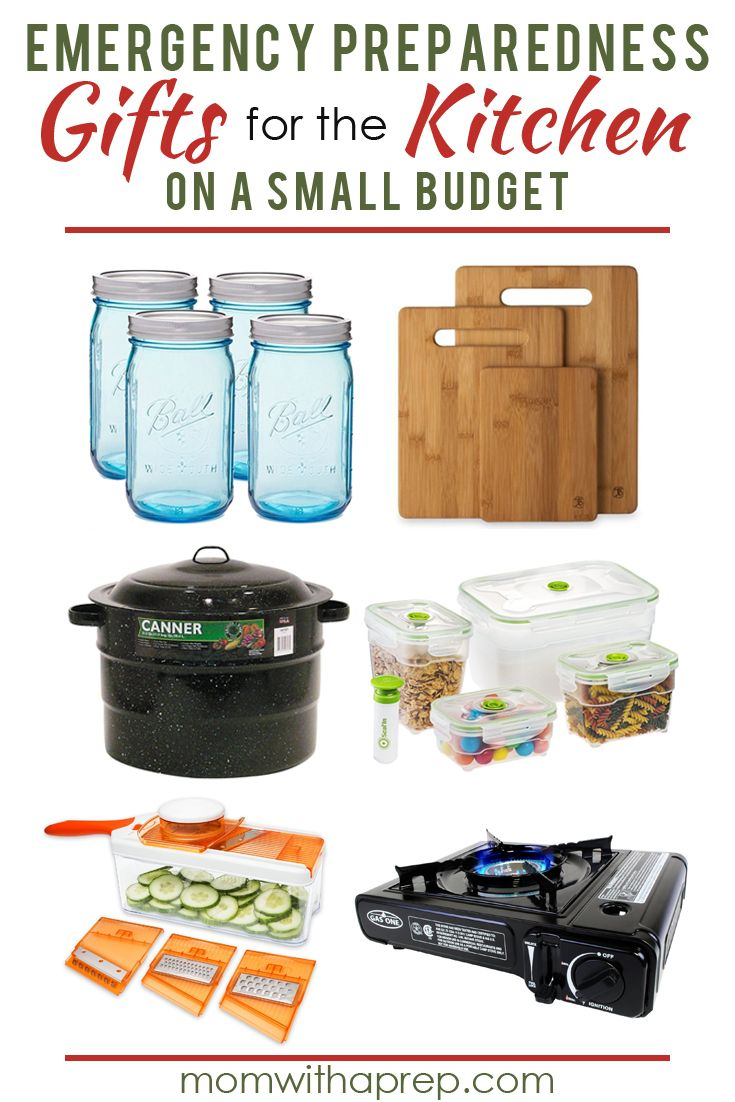 Preparedness Gift Ideas for the Kitchen to help you gift the gift of ...