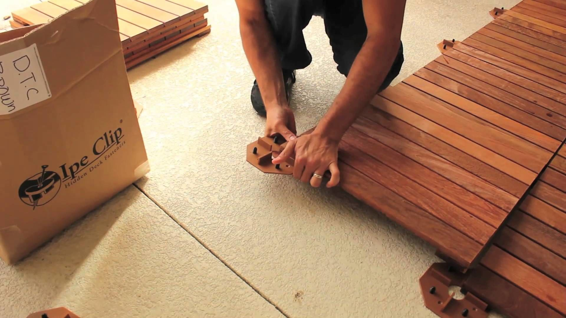 Wood Porch Flooring Design Idea Deck tiles, Deck tile