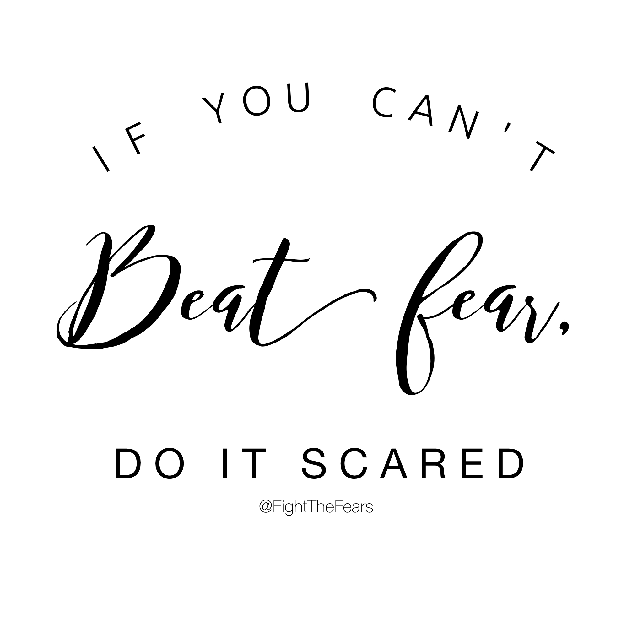 How To Get Rid Of Fear Before A Fight