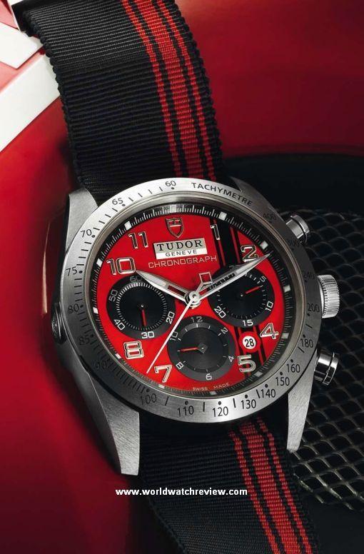Tudor Fastrider Chronograph Ducati (Ref. 42000)  0a24f9c18388
