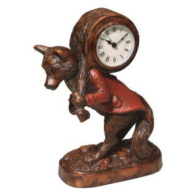Fantastic Fox Desktop Clock - 0315-HM