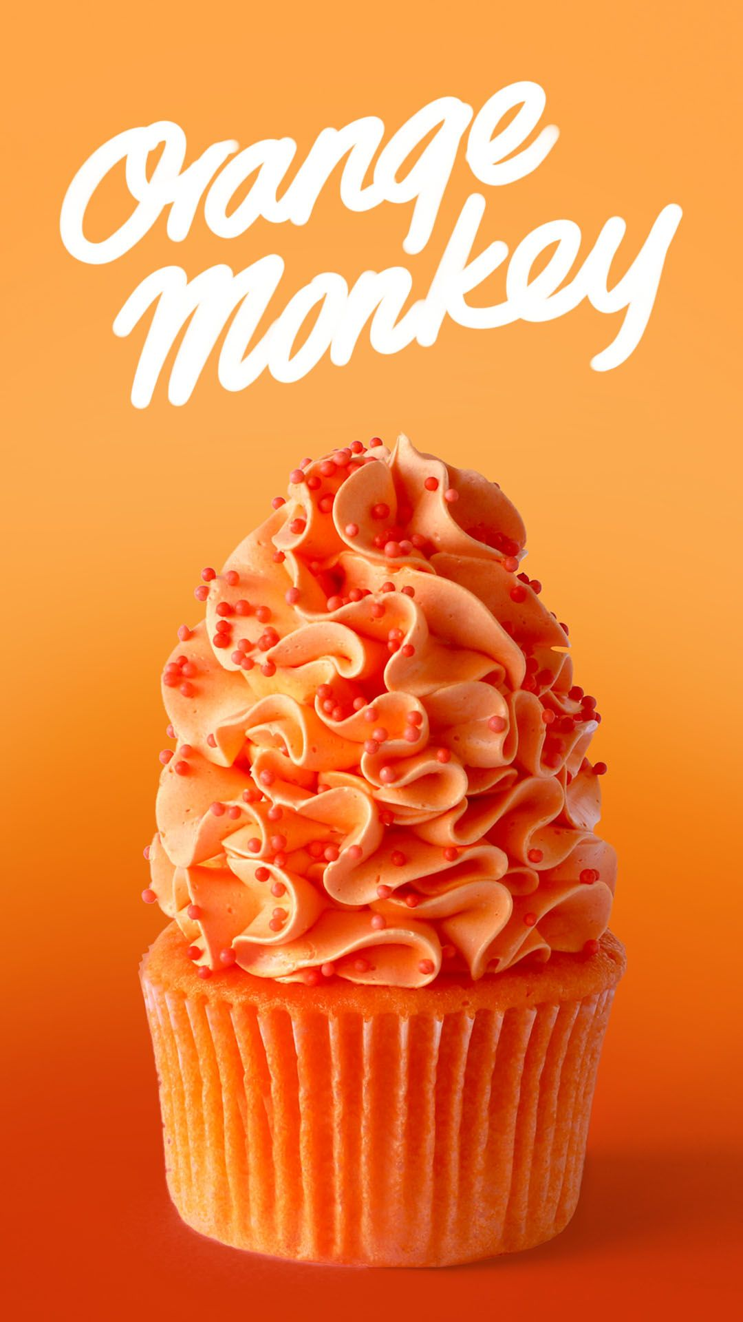 Orange Monkey Cupcakes #cupcakesrezepte