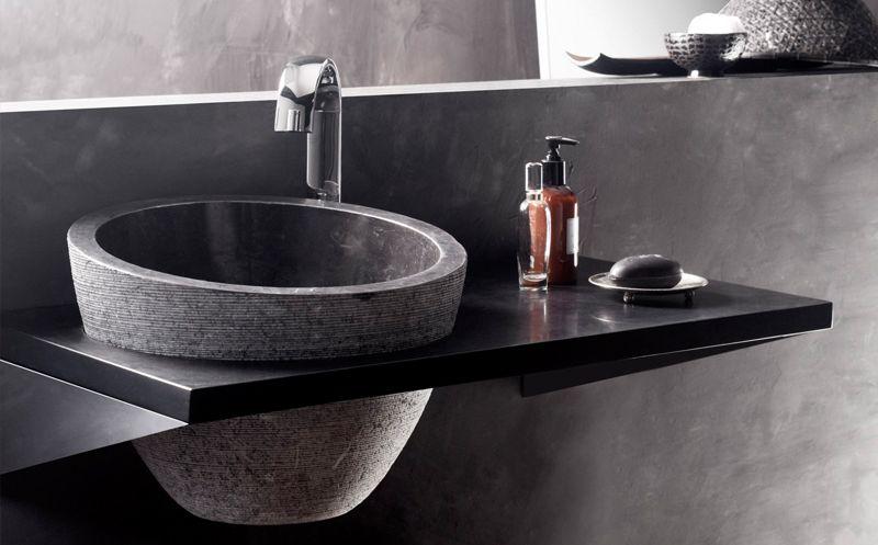 lavabo mirage Los mejores lavabos de piedra Tendencias de baños - bao de piedra