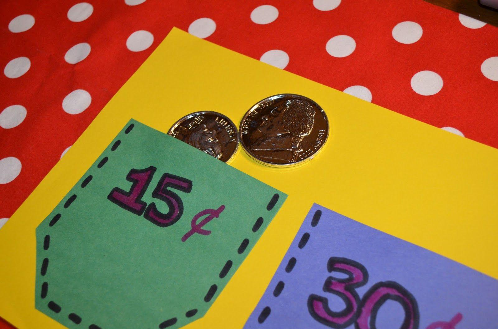 Literacy Amp Math Ideas Money Pocket Math Center
