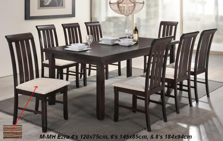 Yf Ezra 4 Seater 6 Seater 8 Seater Trendy Furniture Design Modern Dinning Table Modern Seating Furniture Design