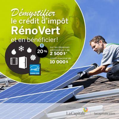 Demystifier Le Credit D Impot Renovert Et En Beneficier Planification Financiere Epargne Et Conseil