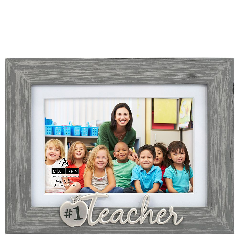 Number 1 Teacher Expressions Picture Frame 4x6 With Images