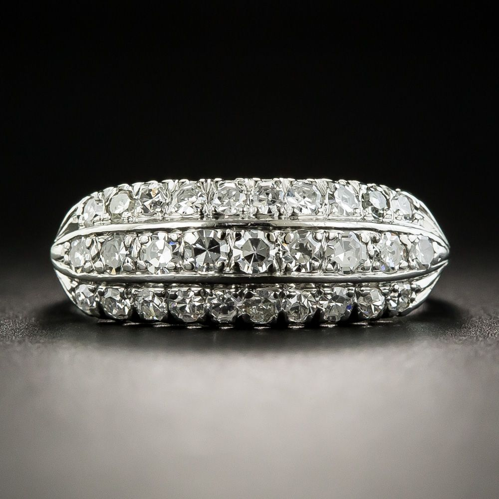21576ef989f Rendered in gleaming 14K white gold around the middle of the last century