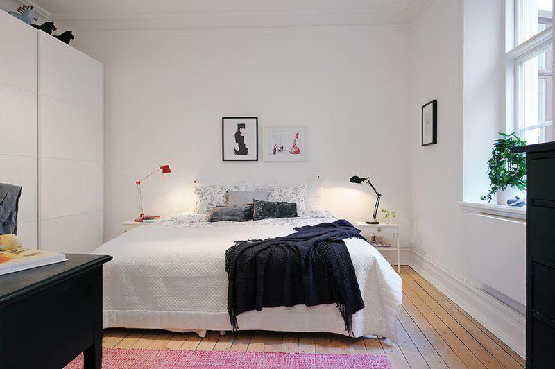 Bett ohne Kopfteil So wird das Schlafzimmer größer