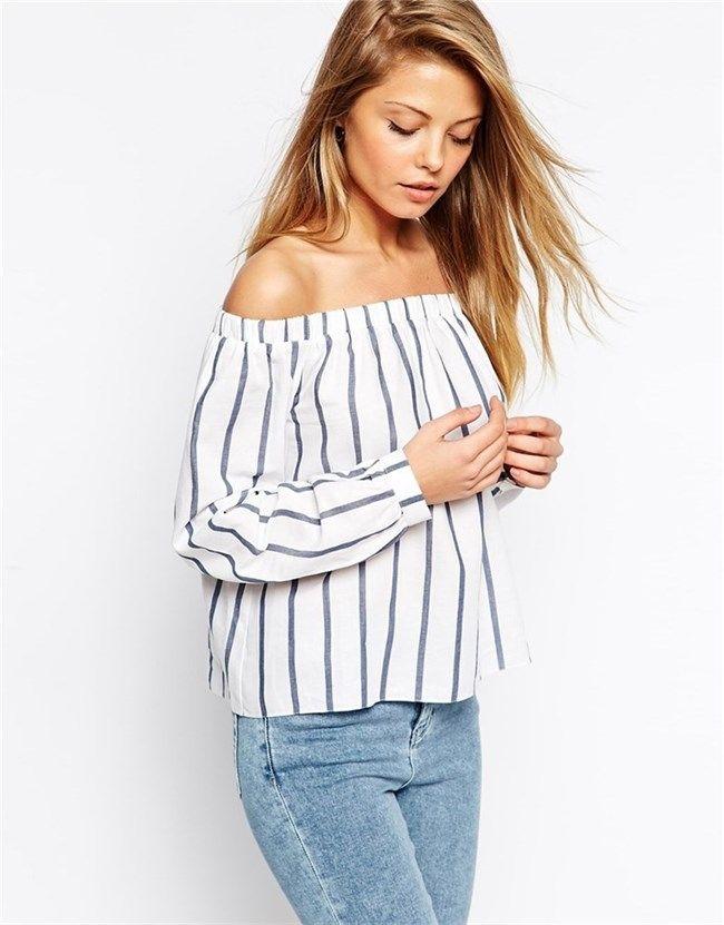 blusas con hombros descubiertos - Google Search