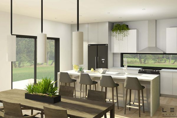 Plan de Maison Moderne Ë_136 Leguë Architecture Home Pinterest