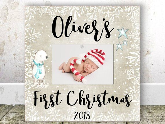 Christmas Gifts For New Parents.Baby S First Christmas Frame My First Christmas Frame Baby S