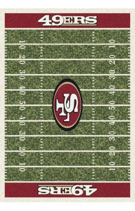 Milliken Nfl Home Field San Francisco 49ers Rug 49ers Bedroom Ideas Kids Room Area Rugs 49ers