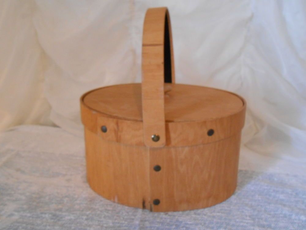 Bentwood Handcraft Oval Box Shaker Pantry Box Style Basket #BentwoodHandcraft
