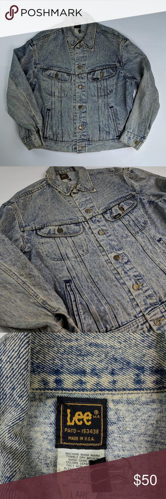 Vintage Lee Rider Jean Jacket Earnhardt Nascar 90s Vintage Jackets Vintage Jacket Rider Jeans