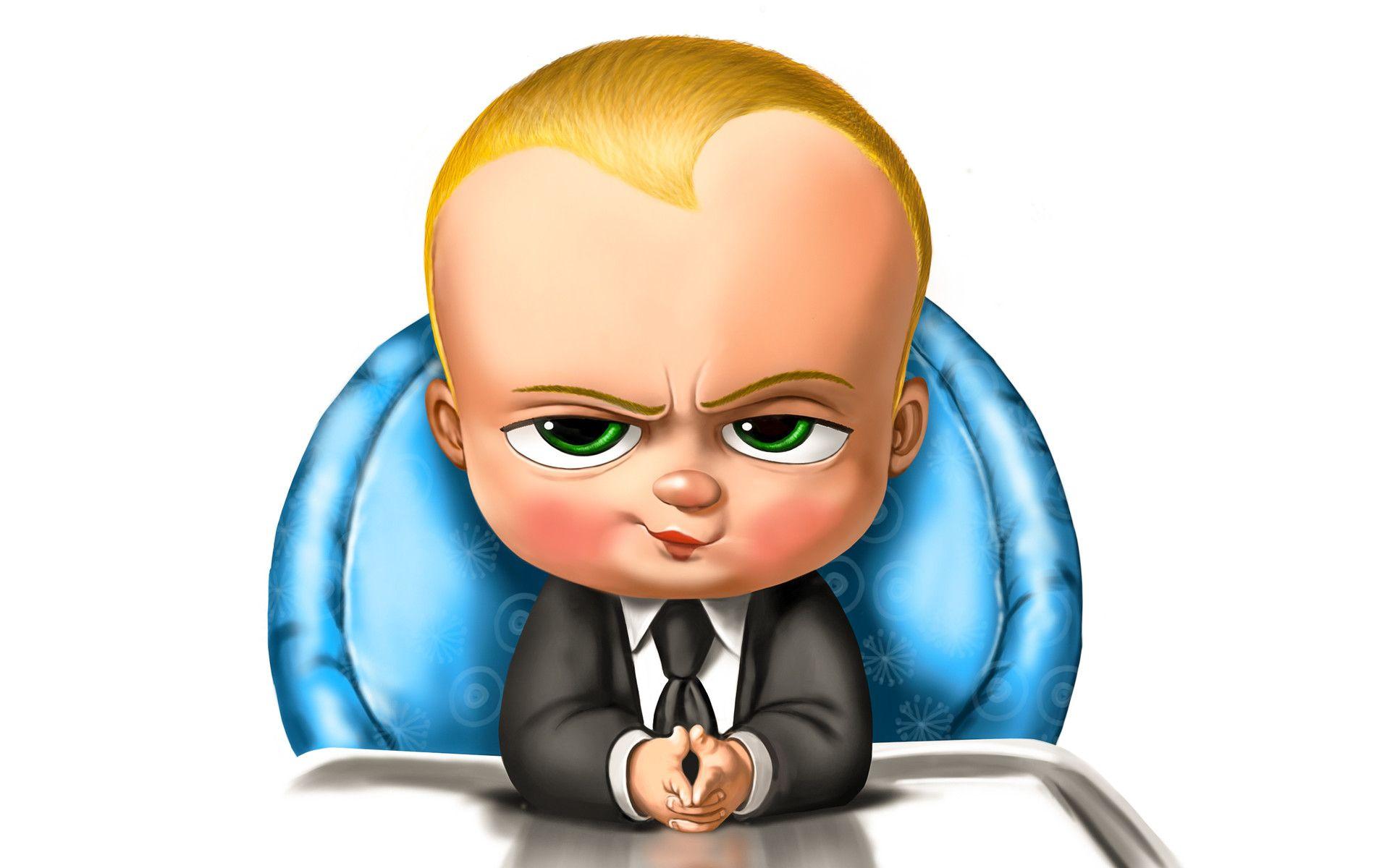 The Boss Baby By Alan Huang C 2017 Disney Character Drawings Baby Cartoon Drawing Boss Baby