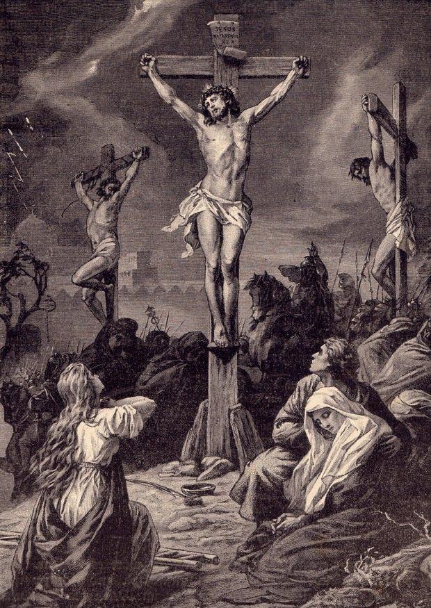 kreuzigung jesus wann