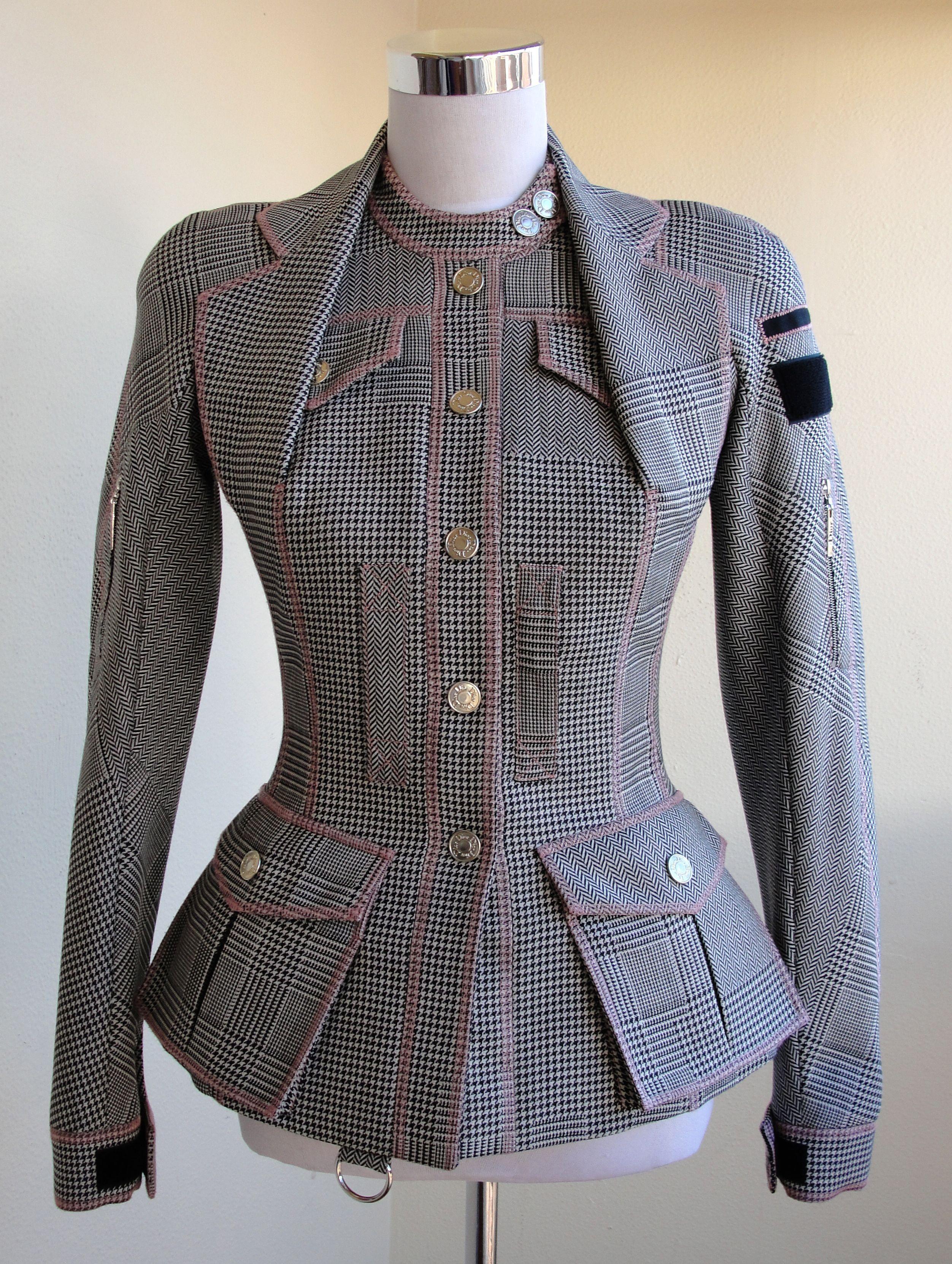 3807dbb146 Christian Dior Bar Jacket by Galliano Roupa Chic