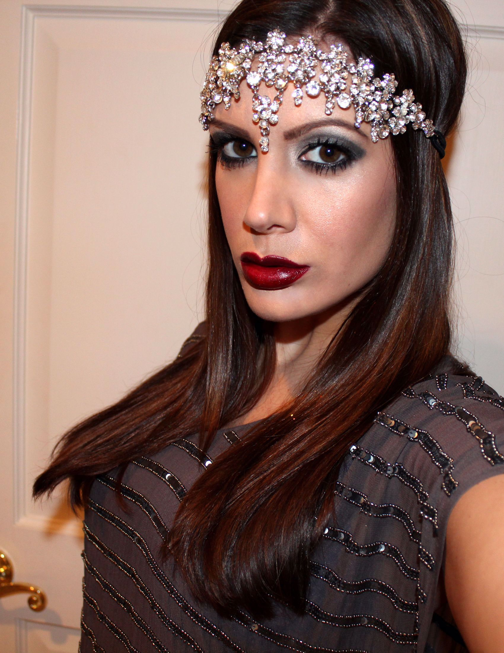 1920s Inspired Makeup, how to apply 1920s makeup 15 steps