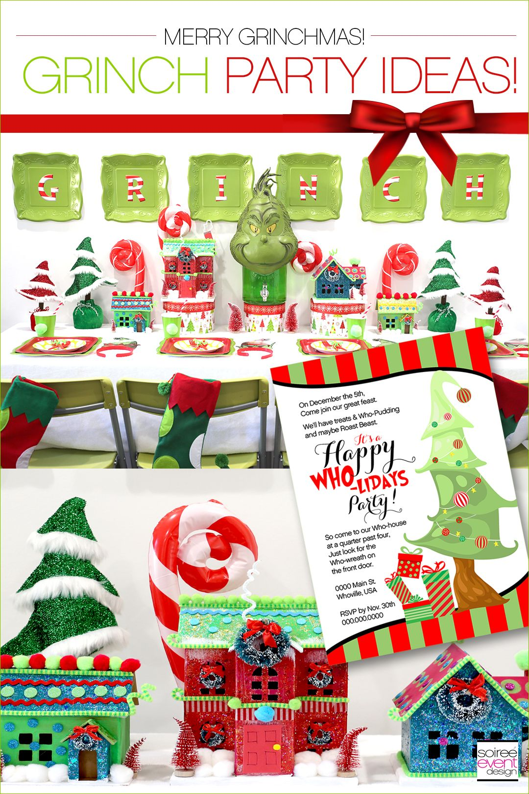 Grinch Party Ideas Grinch Party Classroom Christmas Party Grinch Christmas Party