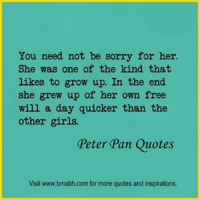 10 Best Peter Pan Quotes Quotes For Everything And Everyone