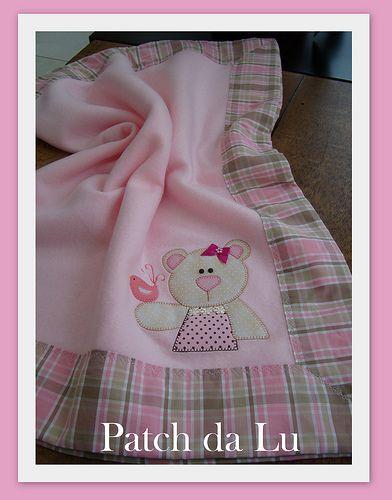 Manta de soft | Niñas | Pinterest | Kindersachen nähen, Patchwork ...