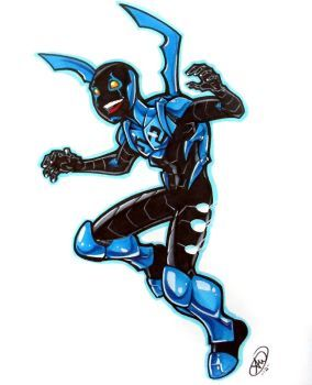 Blue Beetle by AdamWithers