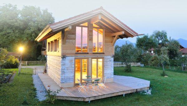 kleine-fertighäuser-schön - zwei stöcke   Minihaus, Haus und ...
