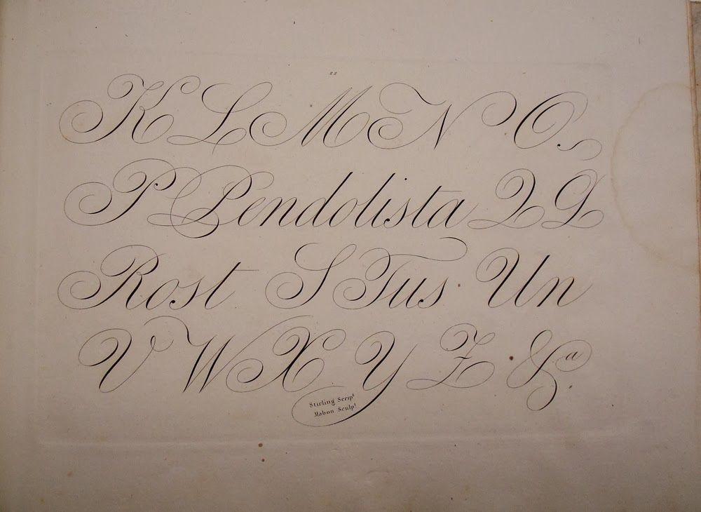 BIBLIOTYPES: Stirling, Ramón: Método de Caligrafía Inglesa o Mercantil.