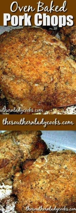 OVEN BAKED PORK CHOPS - The Southern Lady Cooks #porkchoprecipes #ovenbakedporkchops OVEN BAKED PORK CHOPS - The Southern Lady Cooks #porkchoprecipes #ovenbakedporkchops