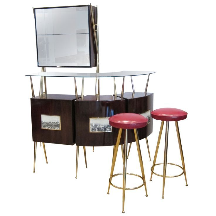 Fifties Home Bar | Exceptional 1950u0027s Italian Bar Suite