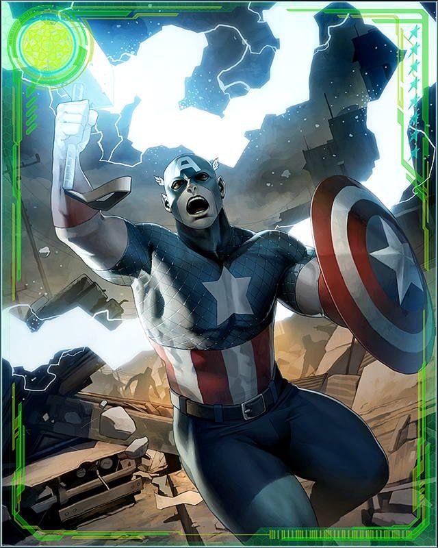 RPGOTG - [Back In Action] Captain America+