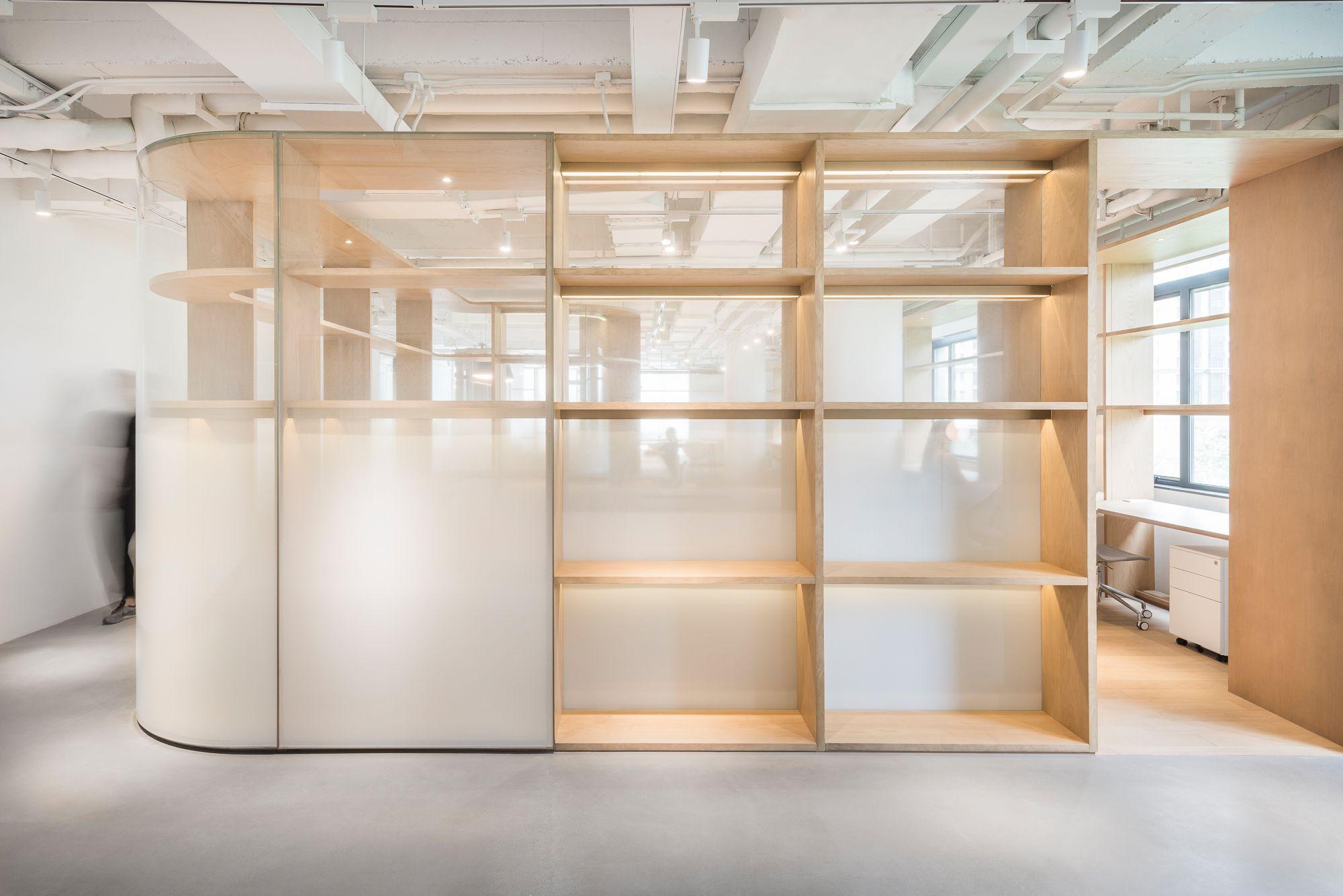 Mobiliar bildet Raum: Bürogestaltung in Shanghai | Shanghai, Wand ...