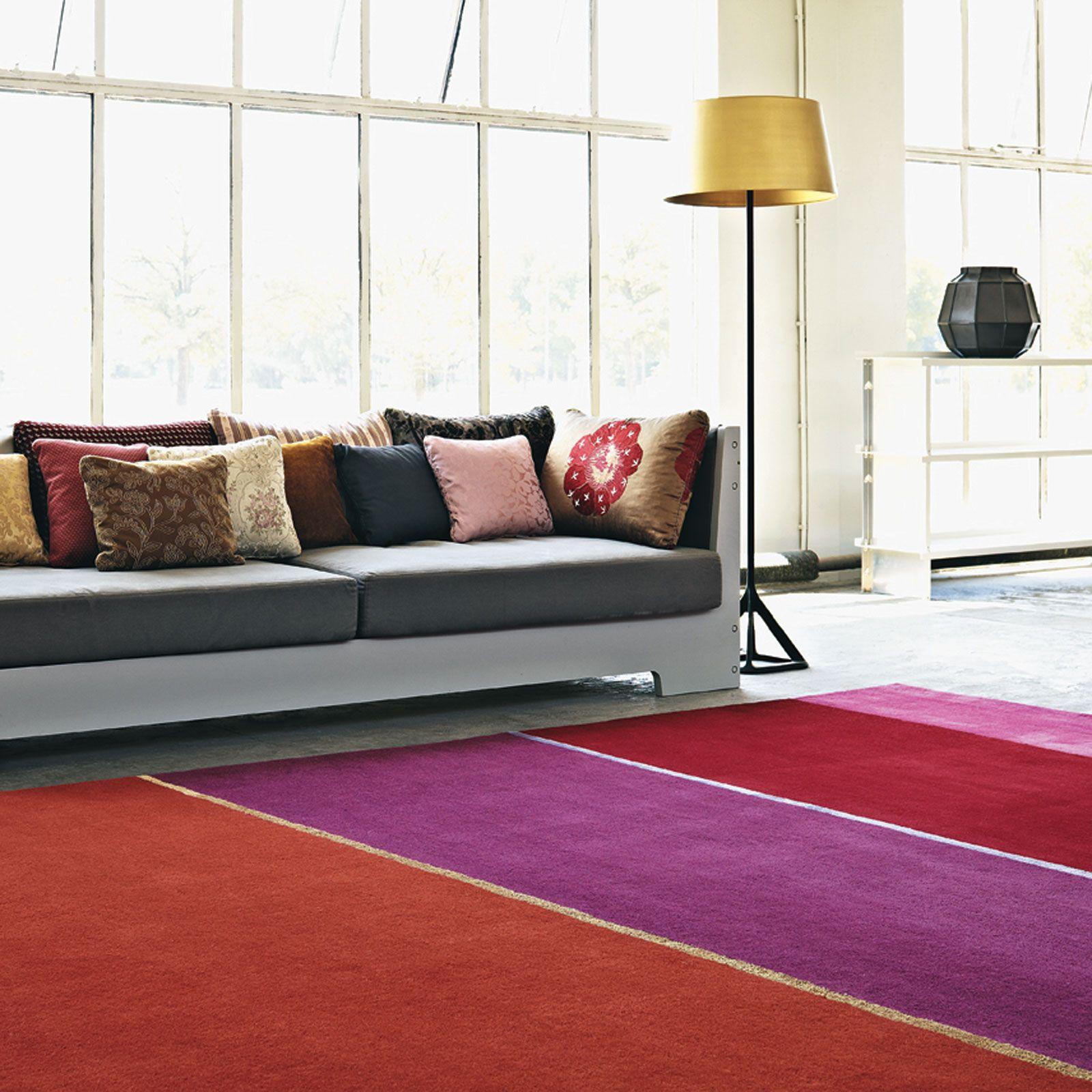 Estella Horizon 83500 Wool Rugs By Brink Campman Free Uk Delivery Red Rugs Modern Rugs Rug Design