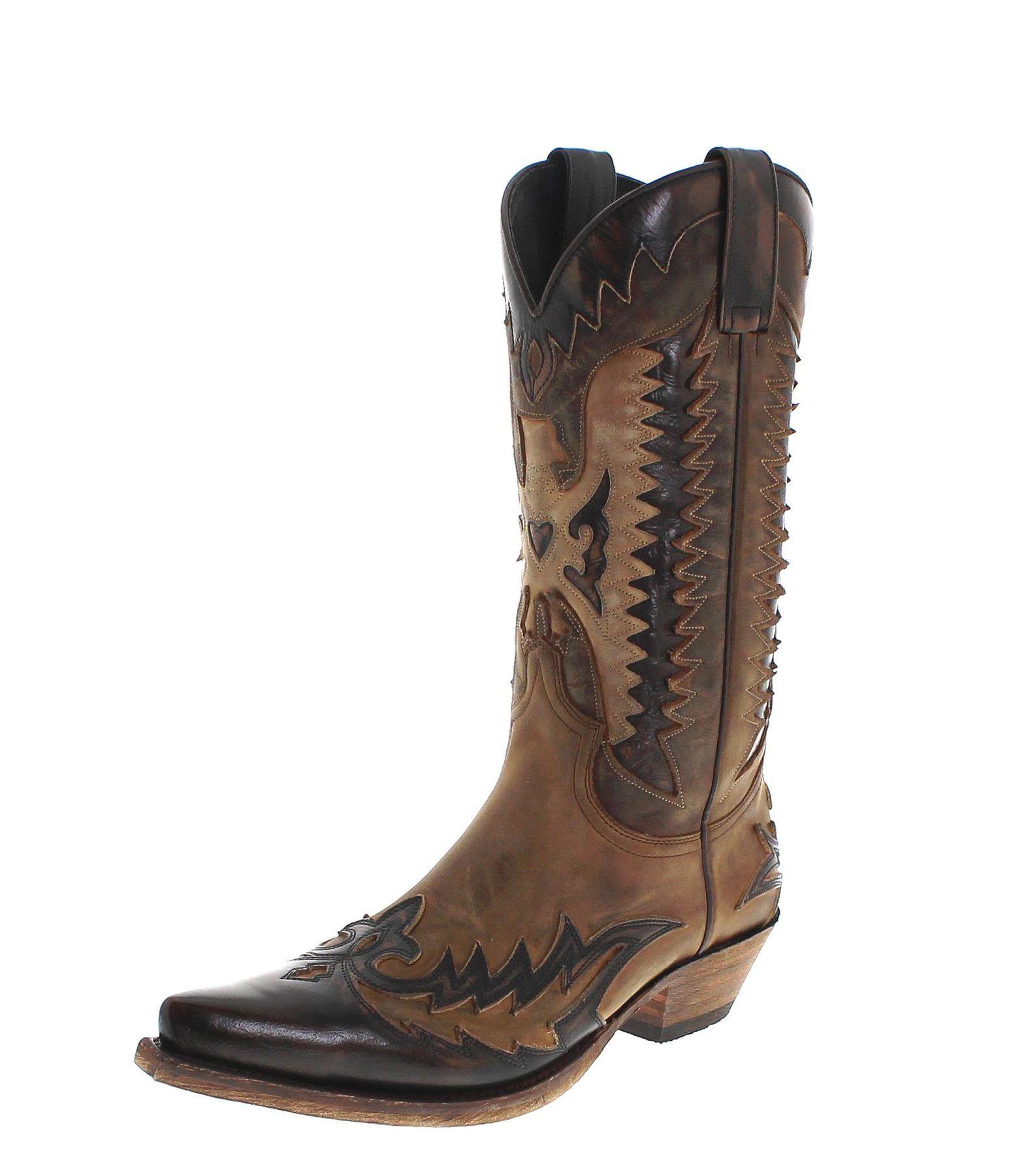 premium selection caa50 ac1ce Sendra Boots 13040 Mad Dog Tang Lavado Herren Cowboystiefel ...
