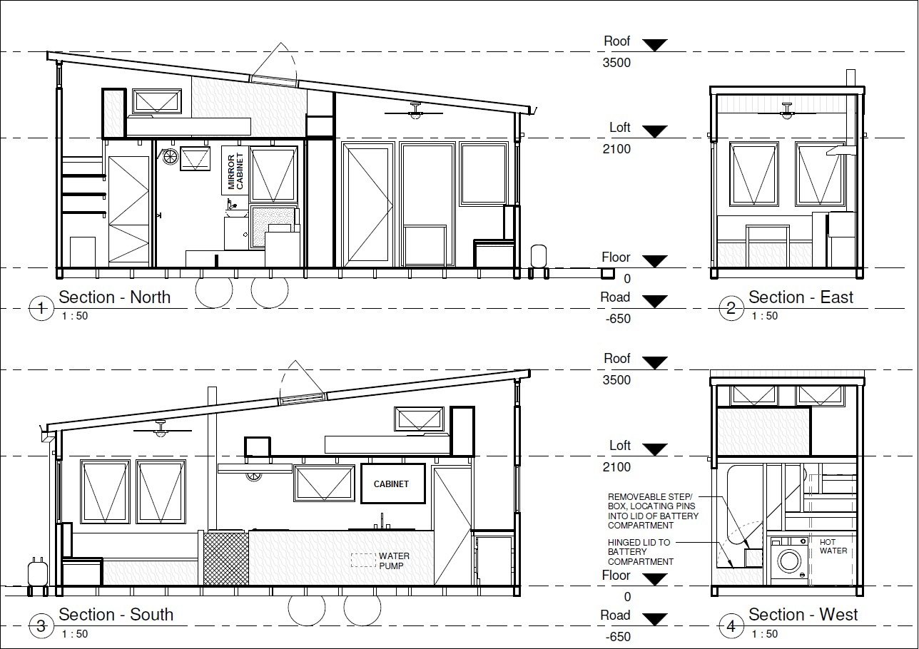 Tiny House Dimensions Trailer Plans Tiny Houses Plans