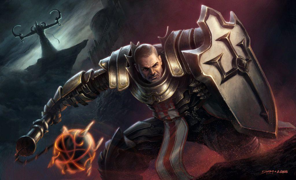 Diablo III Crusader by davidcobos deviantart com | Fantasy