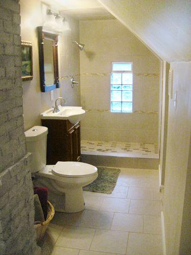 Hidden Attic Space Into Walk In Closet And Bath Attic