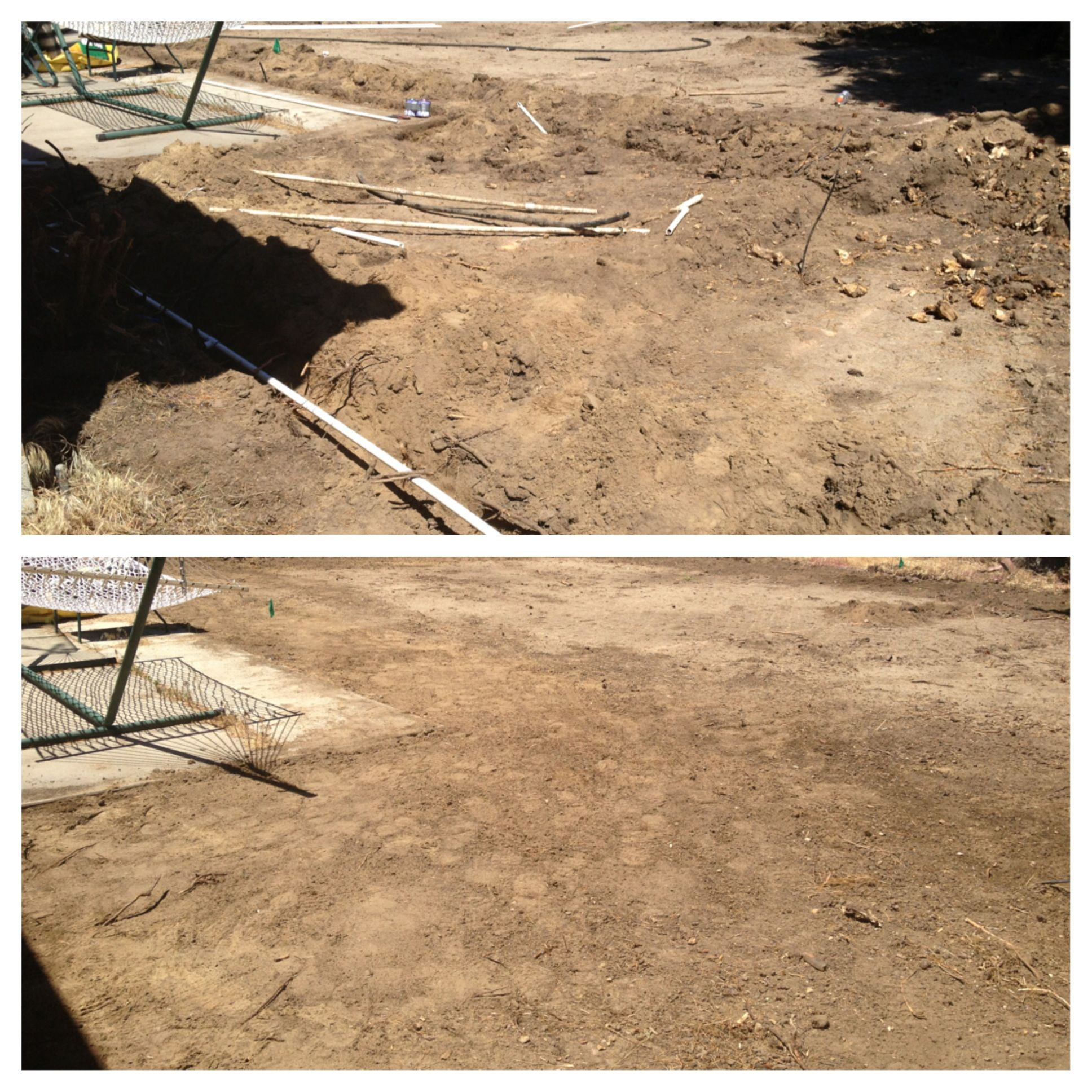 New sprinkler system for this Sandy Utah home. It is ready for new sod and planting.