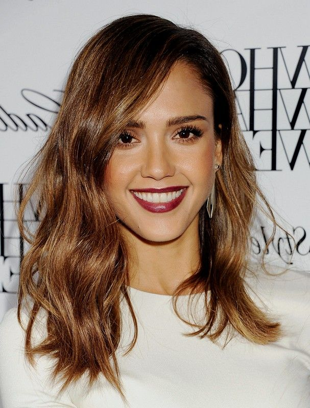 Jessica Alba Hair Color 2015 Medium Hairstyles With Brown Hair Color Jessica Alba Hair Jessica Alba Hair Color Hair Styles