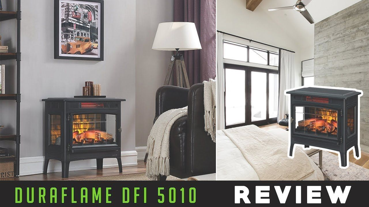 Duraflame Dfi 5010 Electric Infrared Quartz Fireplace Stove With