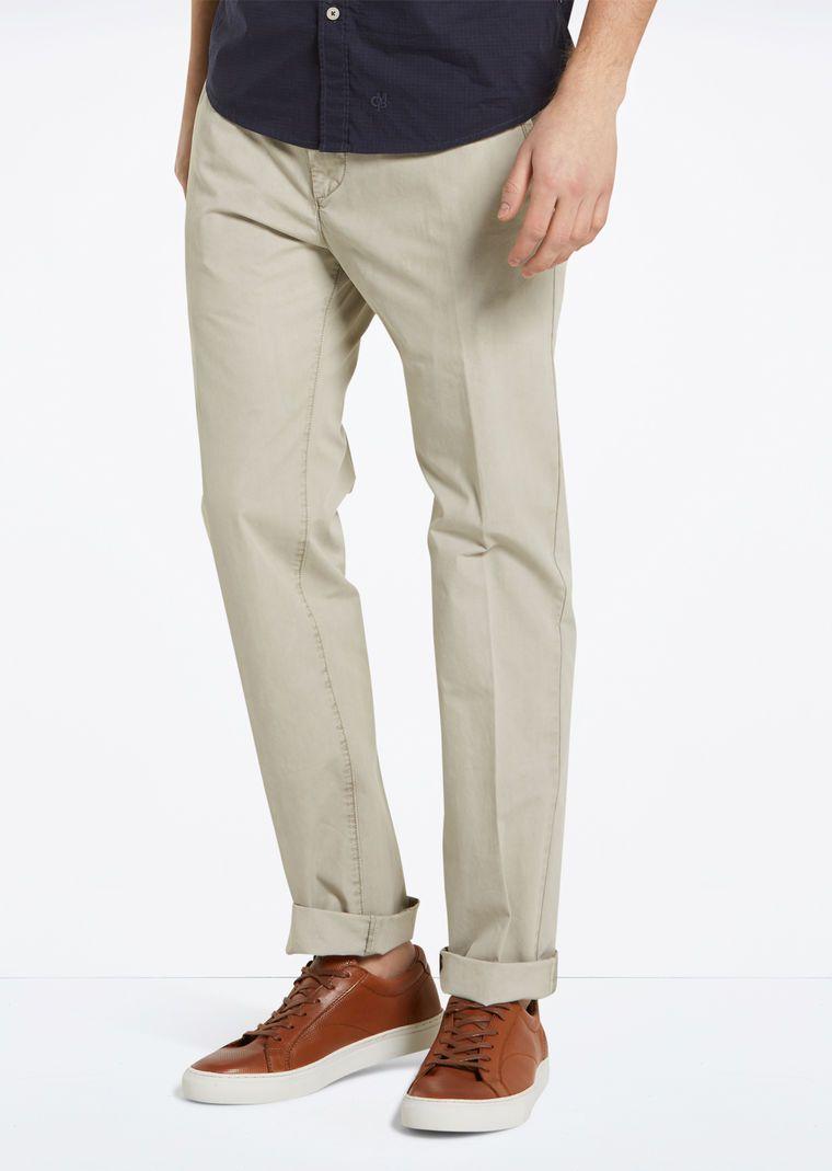 MARC O'POLO, Herren, Bekleidung, Hosen, Chino - Modell Vernik, aus reiner Baumwolle