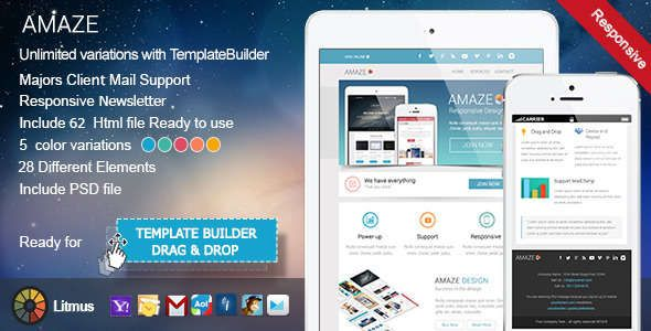 Free nulled mailto responsive email template download email email pronofoot35fo Image collections
