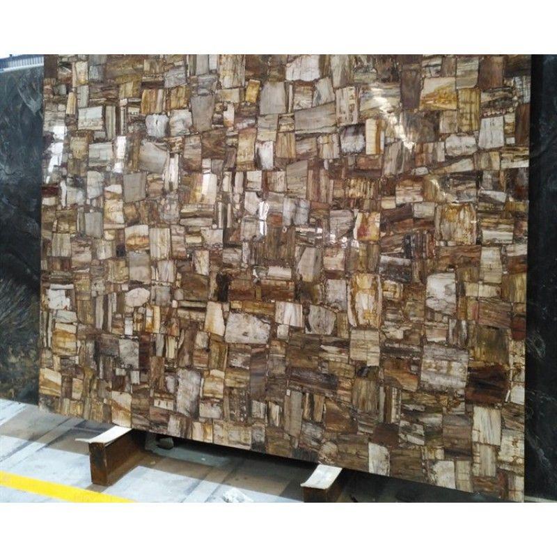 Semi Precious Petrified Wood Stone Slab Wood Stone Stone Slab Wood