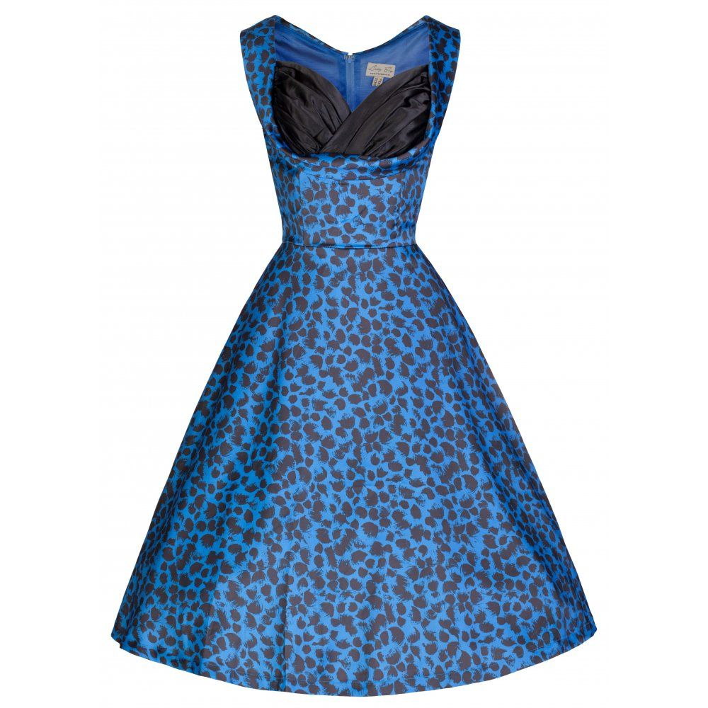 Ophelia Electric Blue Dress | Vintage Inspired Fashion - Lindy Bop ...