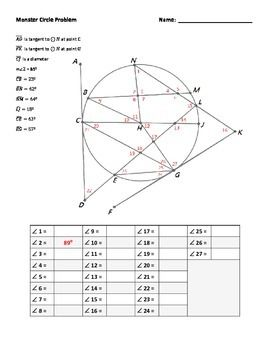 Angle Relationships Worksheet 2 Answer Key Pdf
